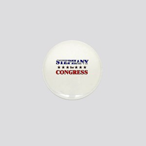 STEPHANY for congress Mini Button