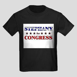 STEPHANY for congress Kids Dark T-Shirt