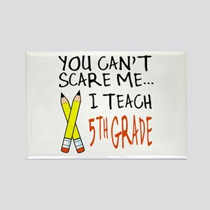 5th Grade Teacher Rectangle Magnet