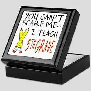 5th Grade Teacher Keepsake Box