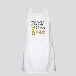 5th Grade Teacher BBQ Apron