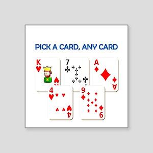 Magic Trick Sticker