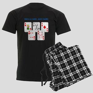 Magic Trick Men's Dark Pajamas