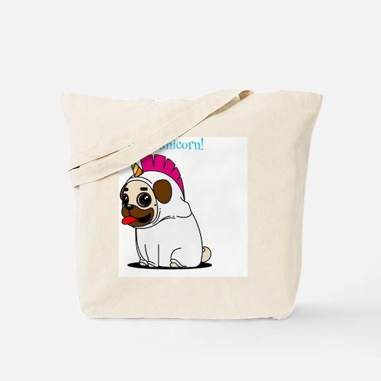 Funny Pink robot Tote Bag