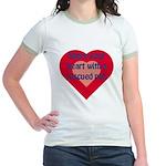 Share My Heart Jr. Ringer T-Shirt