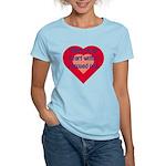 Share My Heart Women's Pink T-Shirt