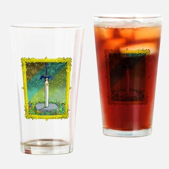 Cute Legend of zelda Drinking Glass