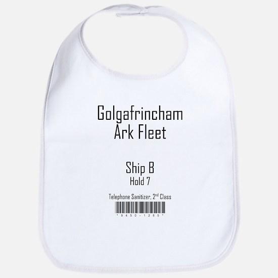 Golgafrincham Ark Fleet Bib