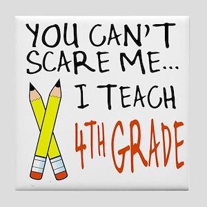 4th Grade Teacher Tile Coaster