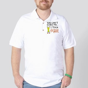 4th Grade Teacher Golf Shirt