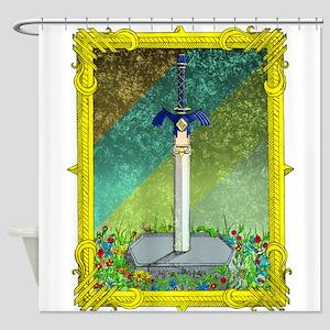 Master Sword Shower Curtain