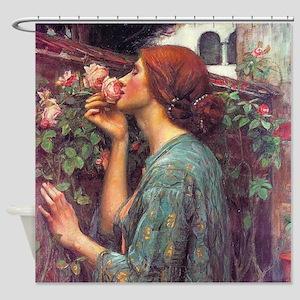 John William Waterhouse My Sweet Ro Shower Curtain