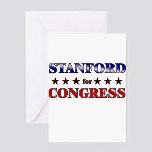 STANFORD for congress Greeting Card
