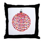 Holiday Ball Throw Pillow