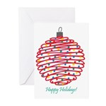 Holiday Ball Greeting Cards (Pk of 10)