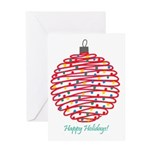 Holiday Ball Greeting Card
