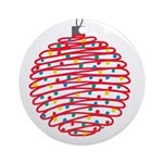 Holiday Ball Ornament (Round)