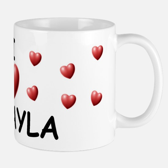 I Love Mckayla - Mug