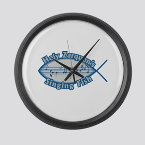 Holy Zarquon's Singing Fish Large Wall Clock