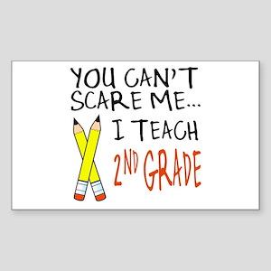 2nd Grade Teacher Rectangle Sticker