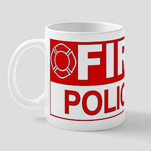 Fire Police Mug
