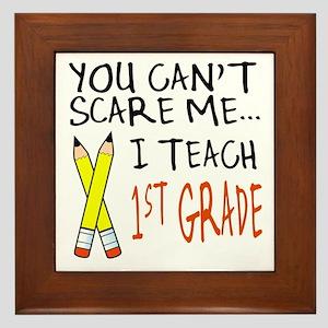 1st Grade Teacher Framed Tile
