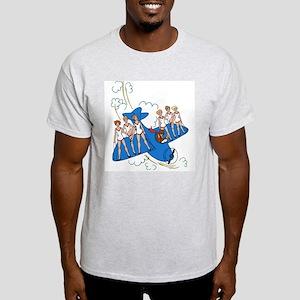 Airplane ShowGirls Light T-Shirt