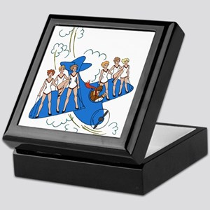 Airplane ShowGirls Keepsake Box
