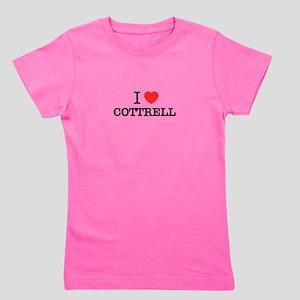 I Love COTTRELL Girl's Tee