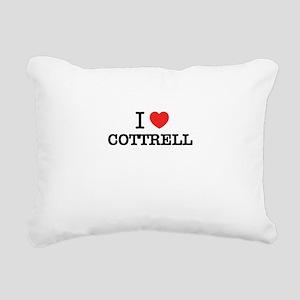 I Love COTTRELL Rectangular Canvas Pillow