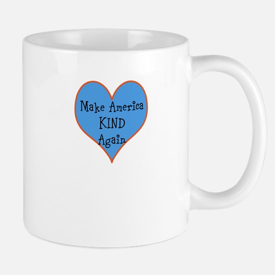 I Heart Kind America Mugs