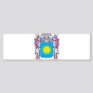 Heb Coat of Arms (Family Crest) Bumper Sticker