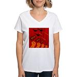 jet420 Women's V-Neck T-Shirt