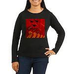 jet420 Women's Long Sleeve Dark T-Shirt