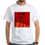 jet420 White T-Shirt