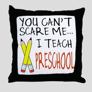 Preschool Teacher Throw Pillow
