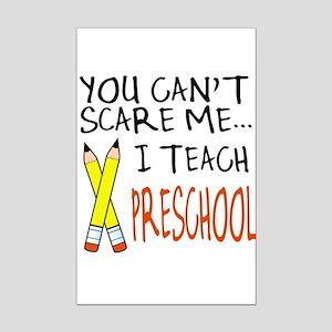 Preschool Teacher Mini Poster Print