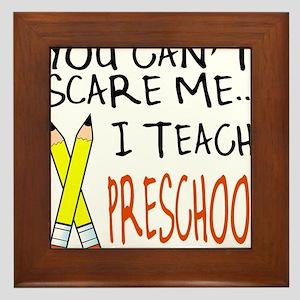 Preschool Teacher Framed Tile