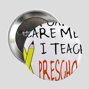 """Preschool Teacher 2.25"""" Button"""