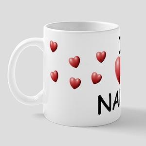 I Love Nadia - Mug