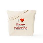 I Love Ujung Pandang Tote Bag