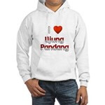 I Love Ujung Pandang Hooded Sweatshirt