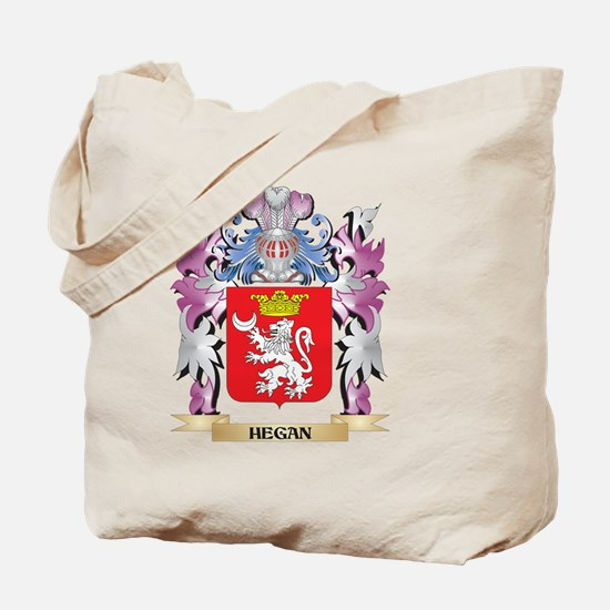 Hegan Coat of Arms (Family Crest) Tote Bag