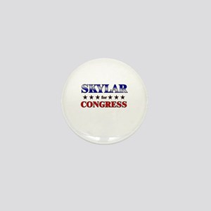 SKYLAR for congress Mini Button
