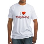I Love Tangerang Fitted T-Shirt