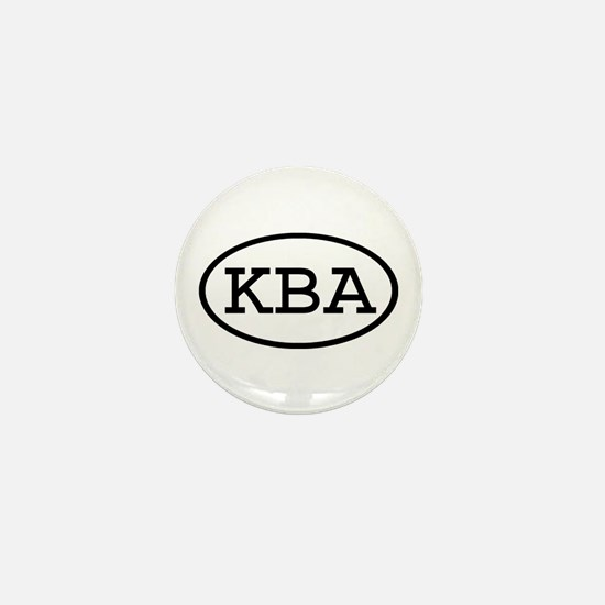 KBA Oval Mini Button