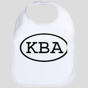KBA Oval Bib