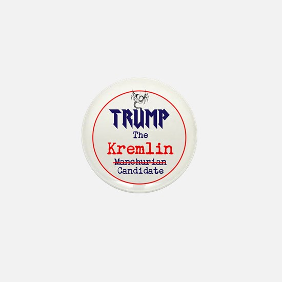 Trump the Kremlin candidate Mini Button