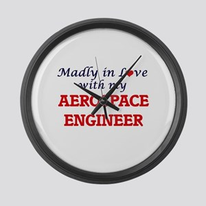 Madly in love with my Aerospace E Large Wall Clock