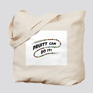 Pruitt Can Do It Tote Bag